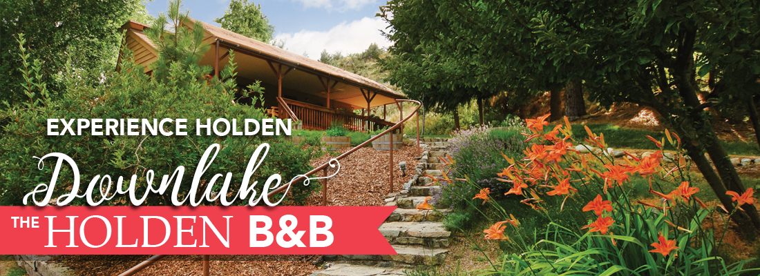 Experience Holden Downlake. Book a stay at the Holden B&B.